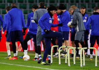 Europa League - Valencia Training