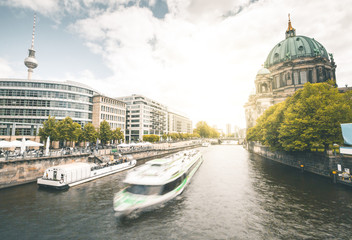 Dome and Spree River - Berlin