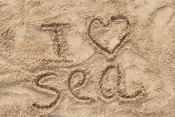 beautiful words on the sand for loved ones, office, apartment