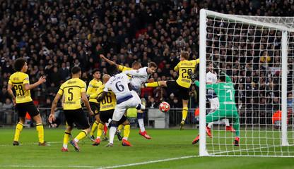 Champions League Round of 16 First Leg - Tottenham Hotspur v Borussia Dortmund