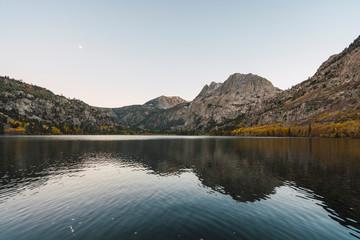 USA, California, Yosemite National Park, Mammoth Lakes, Silver Lake