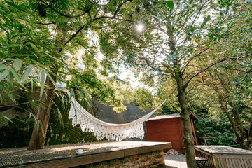 Hammock in the garten