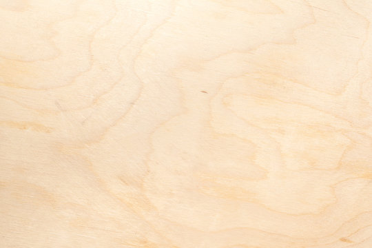Real natural light birch plywood. High-detailed wood texture.