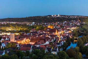 Altstadt, Besigheim, Stadtansicht, Baden-Württemberg