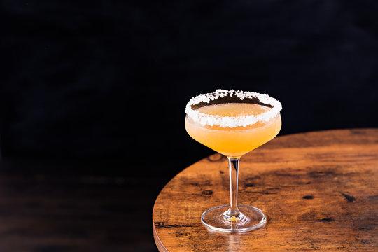 Refreshing Orange Sidecar Cocktail