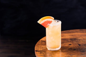 Fototapete - Refreshing Tequila Paloma Cocktail