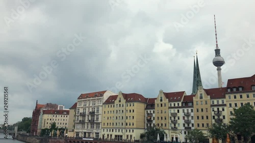 Nikolaiviertel historic center and oldest district of the