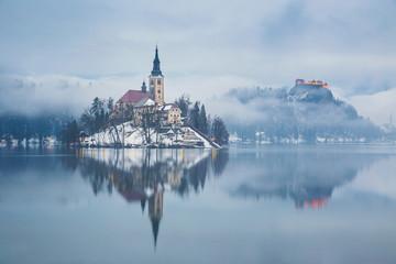 Lake Bled ,Slovenia, Europe
