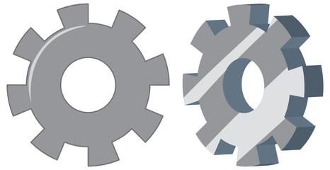 Set of engineering gears