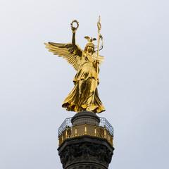 戦勝記念塔のビクトリア像/Siegessäule, Berlin ,Germany