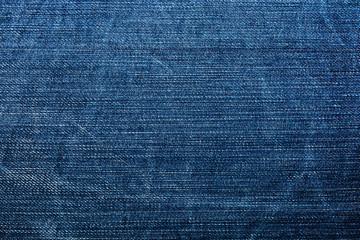 Denim texture for background.Blue jeans