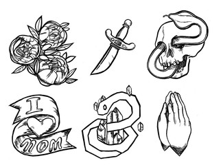 Various Tattoo Designs