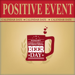 Positive event Beer Day