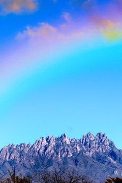 Rainbow Dream New Mexico Mountain Range