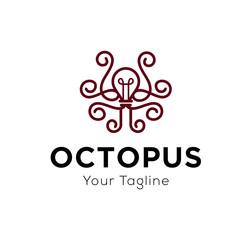 Octopus Logo Template