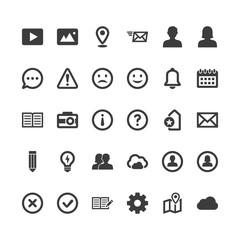 Signs & Symbols - User Interface Icons - Set 3