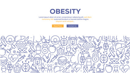 OBESITY BANNER CONCEPT