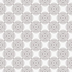 Geometric Pattern. Seamless Texture Grey Color Background. Vector illustration