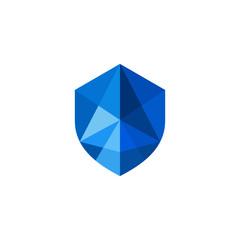 Abstract Shield Logo Image