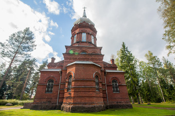 The Holy Cross Church of Kouvola, Finland