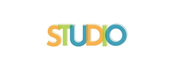 Studio word concept