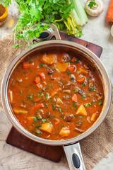 Vegan Irish stew for St. Patrick's Day