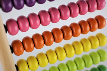 An Image of a toy, abacus