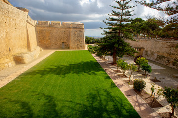 Entrance to the walled city of Mdina in Malta