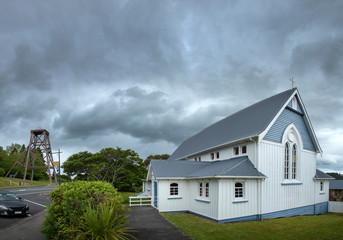 Church at Waihi New Zealand. Cormendal
