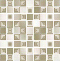 Square pattern. Geometric abstract background