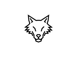 Creative Abstract Wolf Logo
