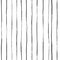 Seamless lined pattern. Vector pattern.Hand drawn ink lines and stripes.