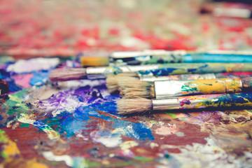 Painting brushes set