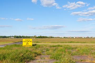 Freifläche auf dem Tempelhofer Feld