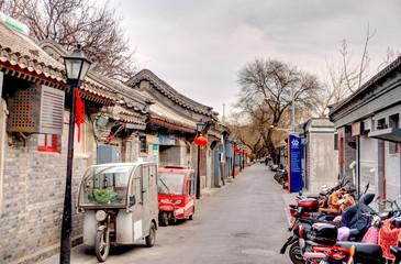 Wall Mural - Traditional Hutong streets, Beijing