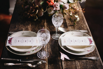 Table de mariage idée déco