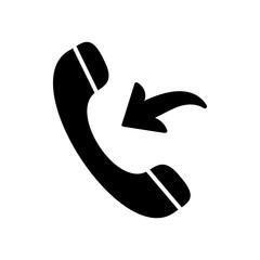 Telephone icon. Vector Illustration. EPS 10