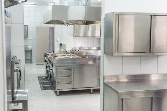 New professional kitchen interior