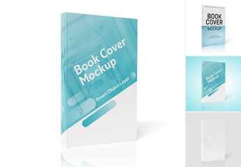 Book Isolated On White Mockup
