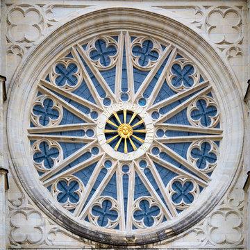Rosace de la cathédrale d'Orléans