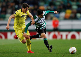 Europa League - Round of 32 First Leg - Sporting CP v Villarreal