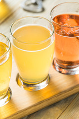 Refreshing Hard Cider Flight