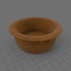 Empty terracotta pot 2