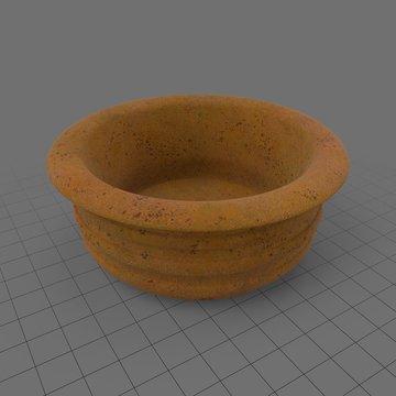 Empty terracotta pot 1