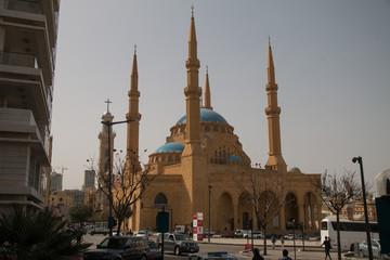 Mohammed-al-Amin-Mosque, Beirut, Lebanon, Middle East