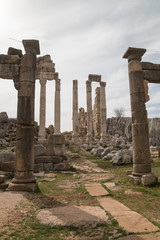 Faqra temple ruins, Lebanon, Middle East