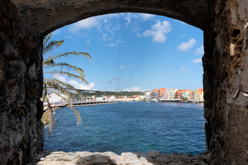 The View To Curacao Wall mural