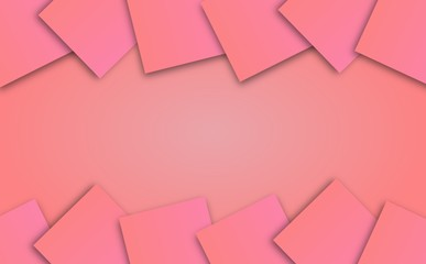 abstract soft pastel pink color background with square pattern, illustration, copy space for text