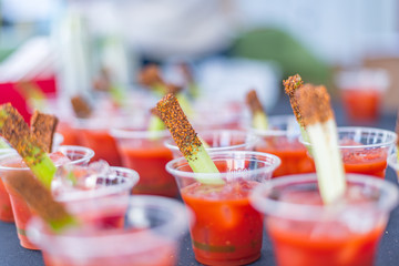 Bloody Mary with celery seeds