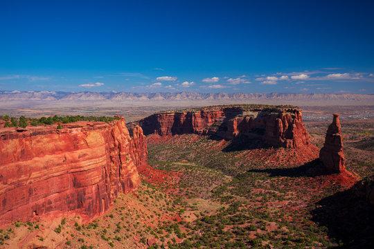 Colorado National Monument. National park in the Mesa County, Colorado. USA.